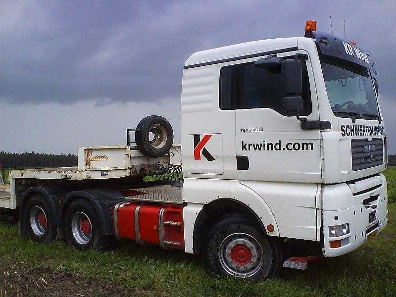 Les grues de Krane Ringen Wind (Allemagne) Kr0110