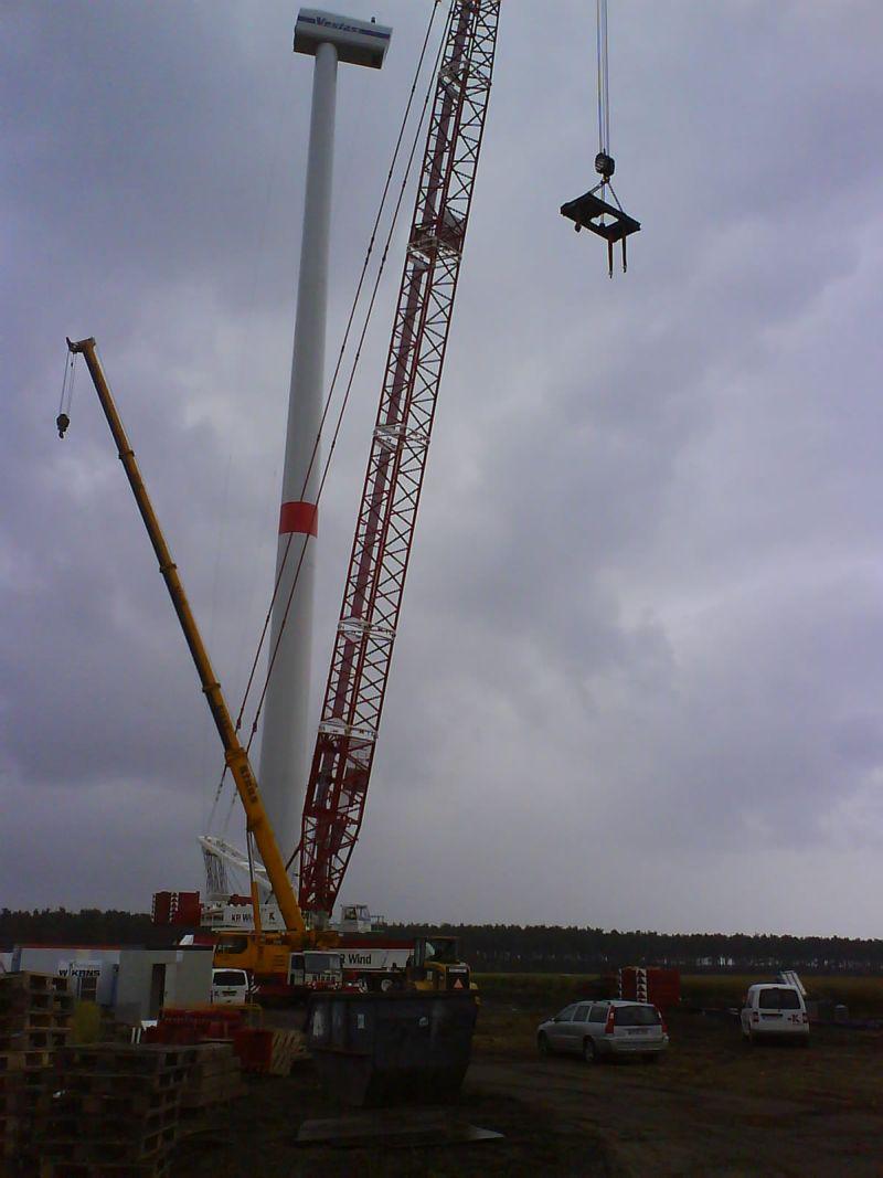Les grues de Krane Ringen Wind (Allemagne) Kr0510