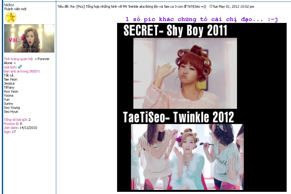 [ANTI AF ARTICLE] Twinkle is a copy? B0096d10