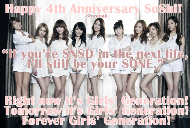 [OTHER] 4 years of SNSD :') Soshi_10