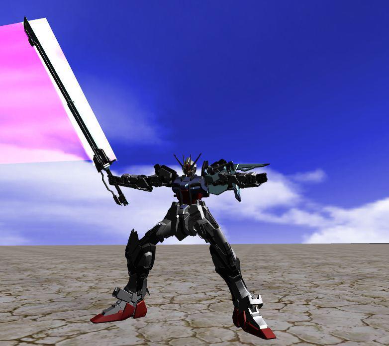strike - 3 Form Strike Gundam ExtremeVs 21924_11