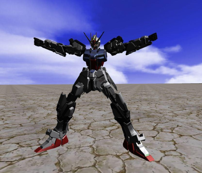 strike - 3 Form Strike Gundam ExtremeVs 76474_10