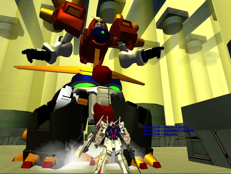 Dark Gundam BOSS Mod Made By Pain Cc10