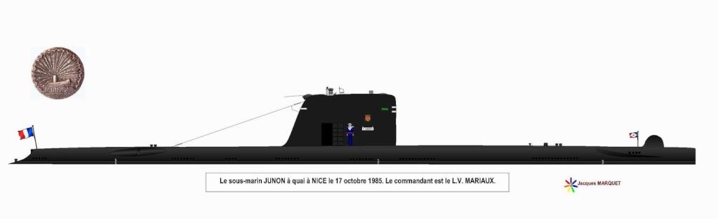 [ Divers - Les classiques ] PROFILS DE SOUS-MARINS TYPE DAPHNE - Page 2 Junon_14