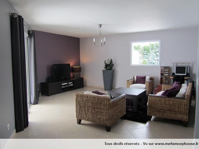 Deco moderne pour SAM salon avec des meubles en teck Salon-12