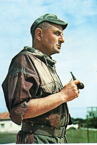 Le général Marcel BIGEARD Cbcte410