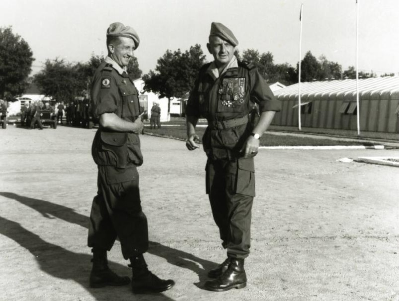 Le général Marcel BIGEARD Genera11