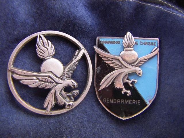 Les commandos de chasse de la GENDARMERIE. Insign10