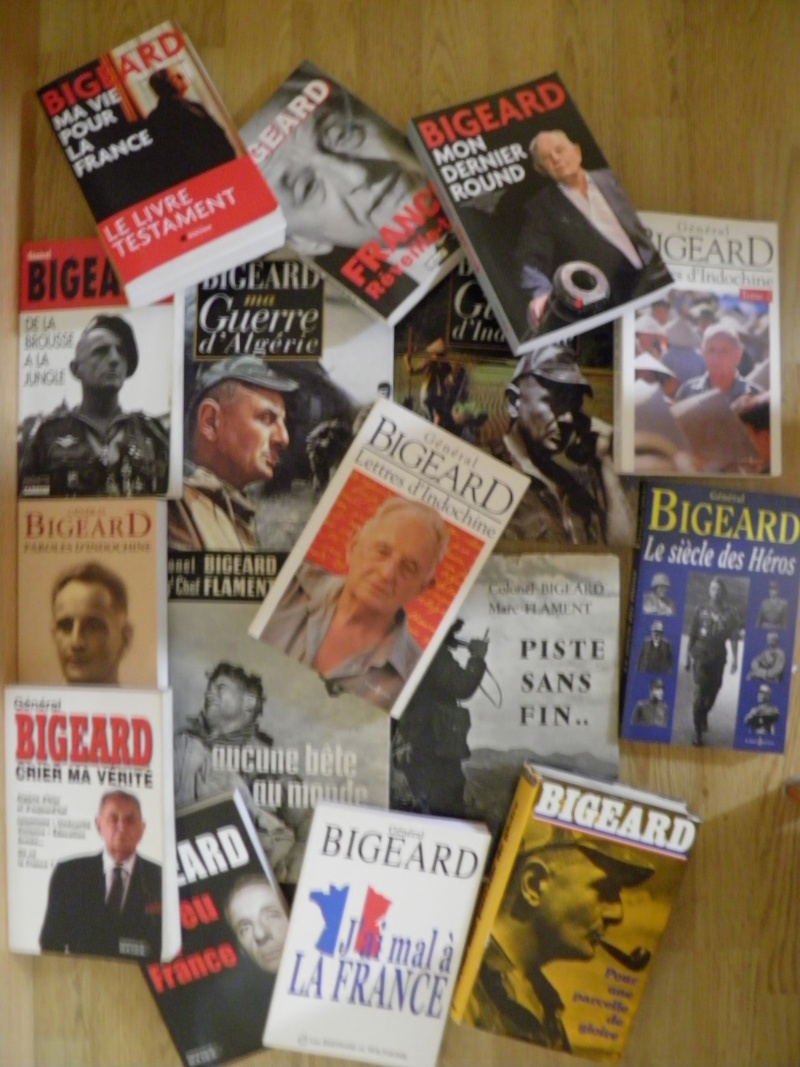 Livres de Marcel BIGEARD P8140010