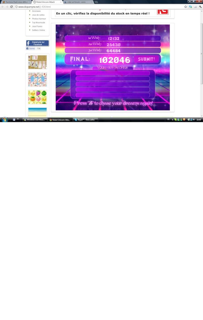 Rainbow Dash vous défie à Robot Unicorn Attack Robot_14