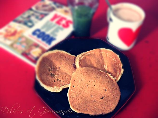 pancakes du vermont Aux flocons d'avoine  Pancak10
