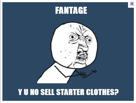 New Clothes?? Fantag16