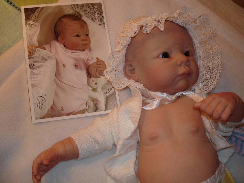 Meine Bethany aber noch ohne Haare als Mogelpackung Dsc04015