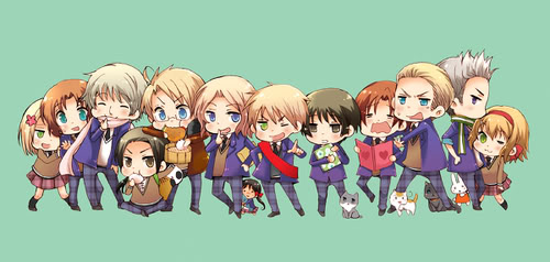 Hetalia World Academy