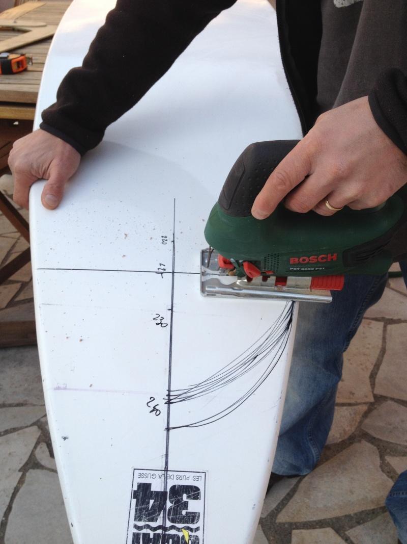 reconditionnement d'une board de slalom sandwich airex carbone (FIN !!) Img_1514