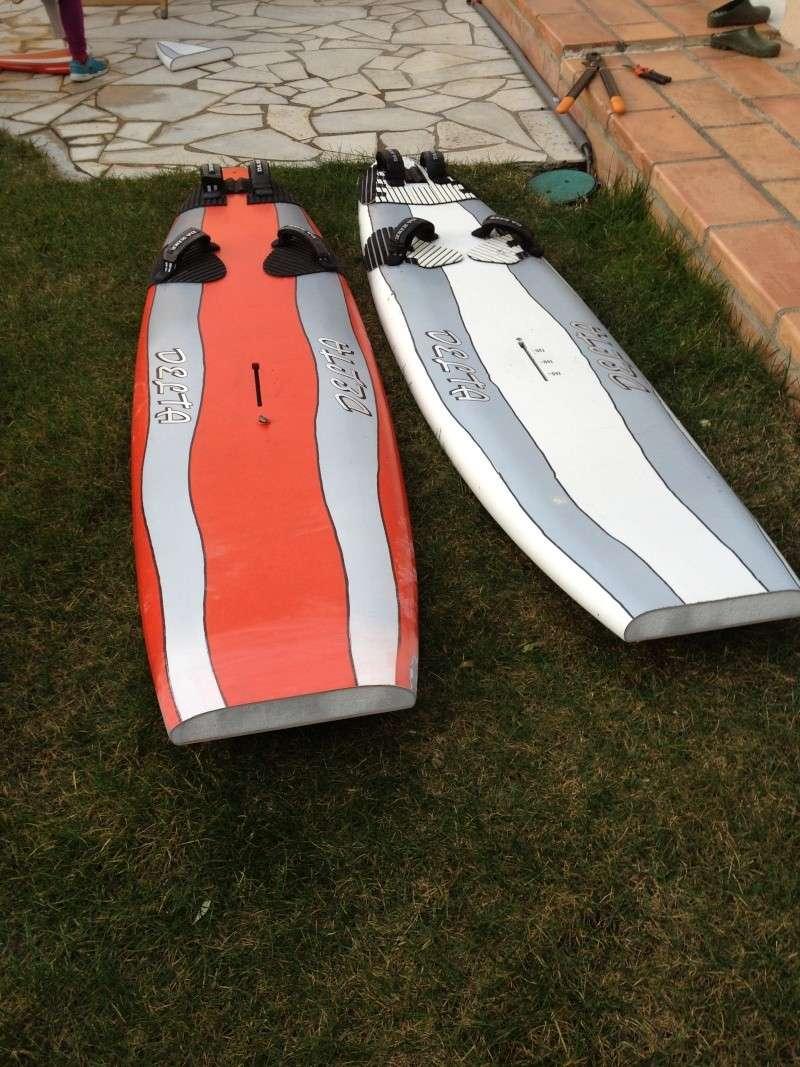 reconditionnement d'une board de slalom sandwich airex carbone (FIN !!) Img_1515