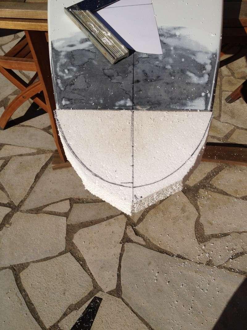reconditionnement d'une board de slalom sandwich airex carbone (FIN !!) Img_1521