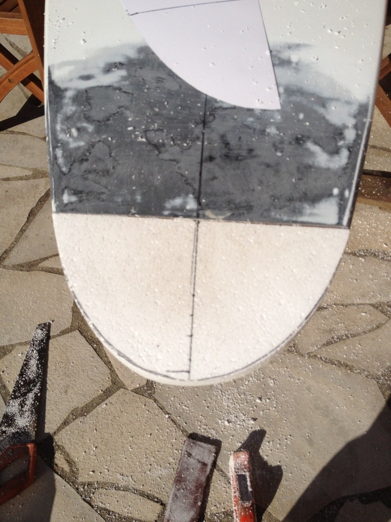 reconditionnement d'une board de slalom sandwich airex carbone (FIN !!) Img_1522
