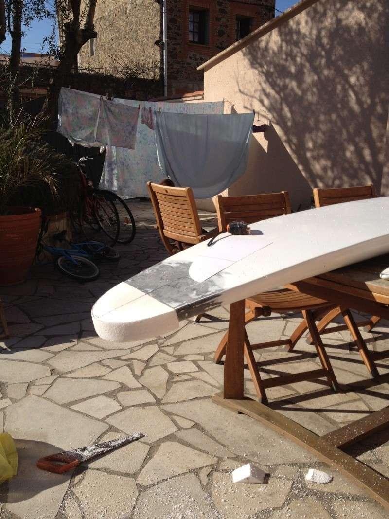 reconditionnement d'une board de slalom sandwich airex carbone (FIN !!) Img_1523