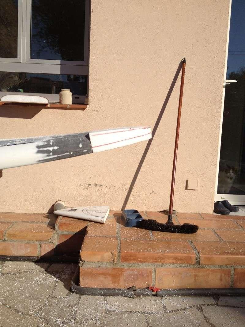 reconditionnement d'une board de slalom sandwich airex carbone (FIN !!) Img_1524