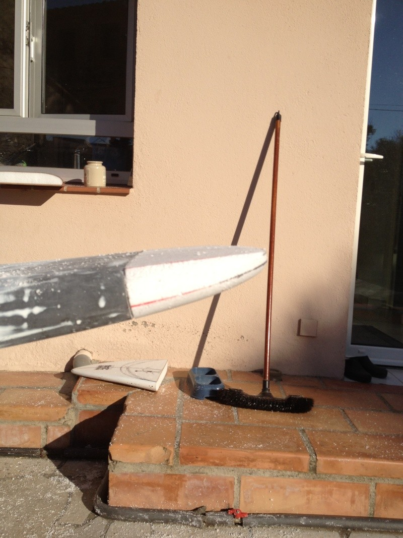 reconditionnement d'une board de slalom sandwich airex carbone (FIN !!) Img_1525