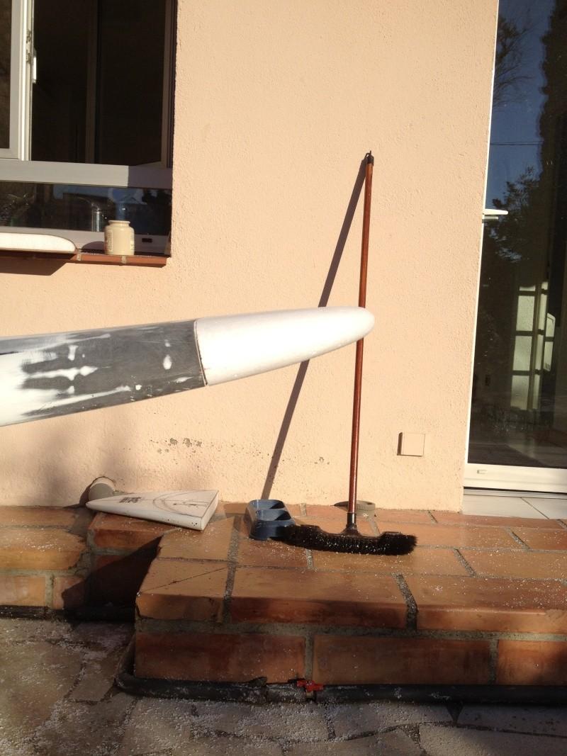 reconditionnement d'une board de slalom sandwich airex carbone (FIN !!) Img_1526
