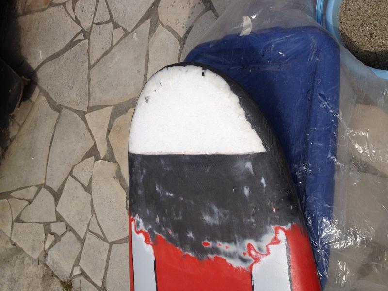 reconditionnement d'une board de slalom sandwich airex carbone (FIN !!) Img_1530