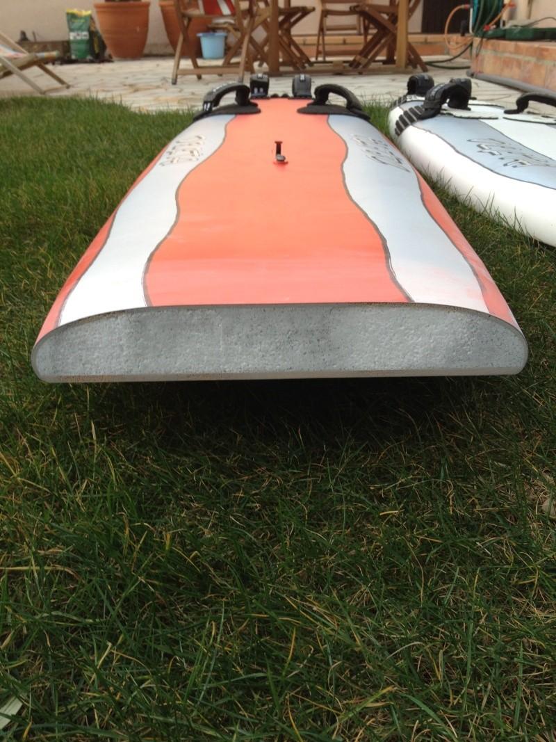 reconditionnement d'une board de slalom sandwich airex carbone (FIN !!) Img_1532