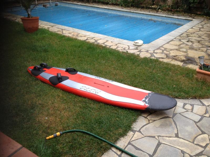 reconditionnement d'une board de slalom sandwich airex carbone (FIN !!) - Page 2 Img_1537