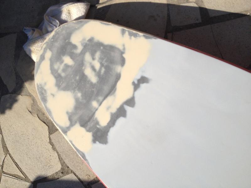 reconditionnement d'une board de slalom sandwich airex carbone (FIN !!) - Page 3 Img_1628
