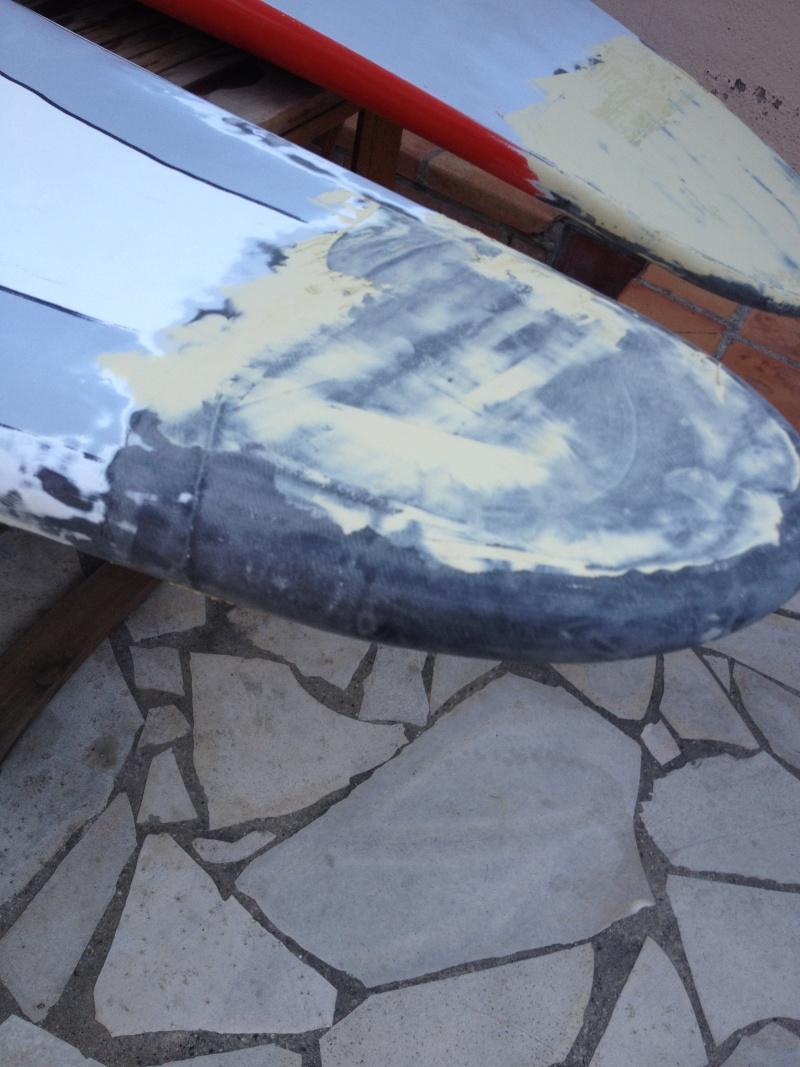 reconditionnement d'une board de slalom sandwich airex carbone (FIN !!) - Page 3 Img_1629