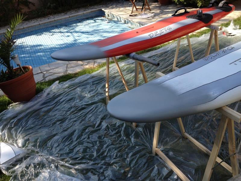 reconditionnement d'une board de slalom sandwich airex carbone (FIN !!) - Page 3 Img_1636