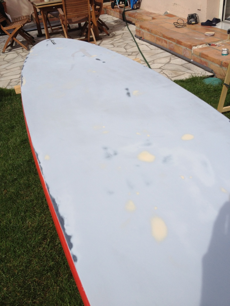 reconditionnement d'une board de slalom sandwich airex carbone (FIN !!) - Page 3 Img_1811
