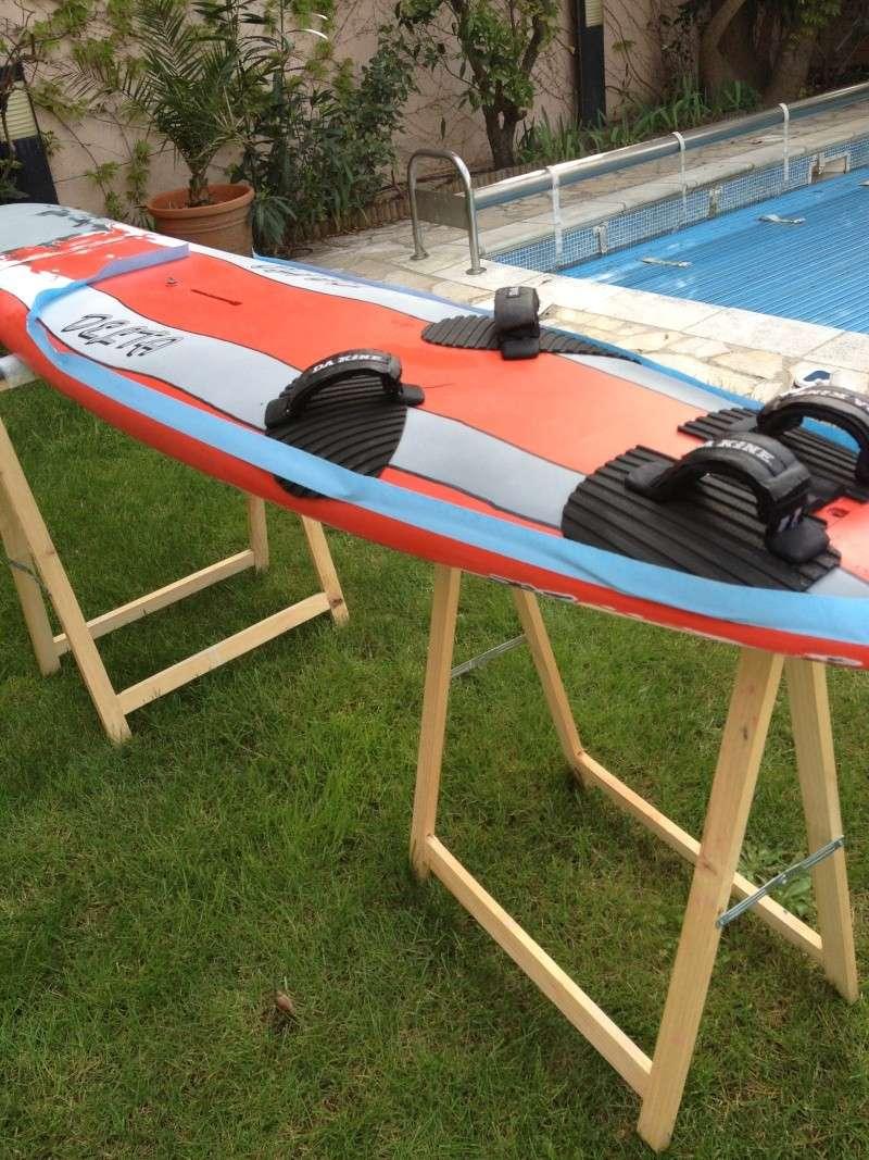 reconditionnement d'une board de slalom sandwich airex carbone (FIN !!) - Page 3 Img_1812