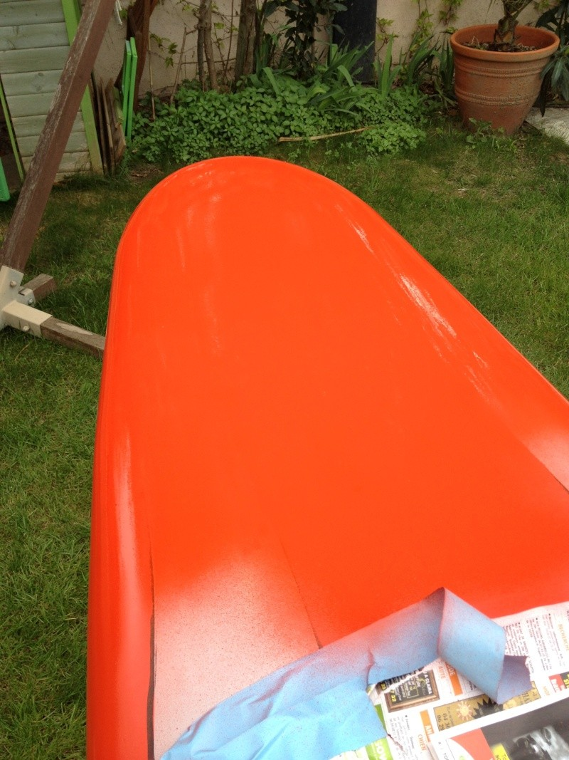 reconditionnement d'une board de slalom sandwich airex carbone (FIN !!) - Page 3 Img_1814