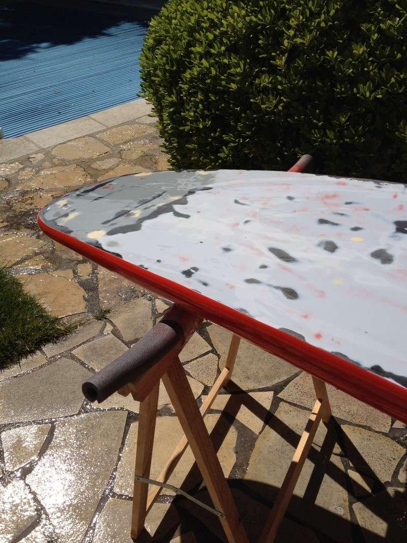 reconditionnement d'une board de slalom sandwich airex carbone (FIN !!) - Page 3 Img_1815