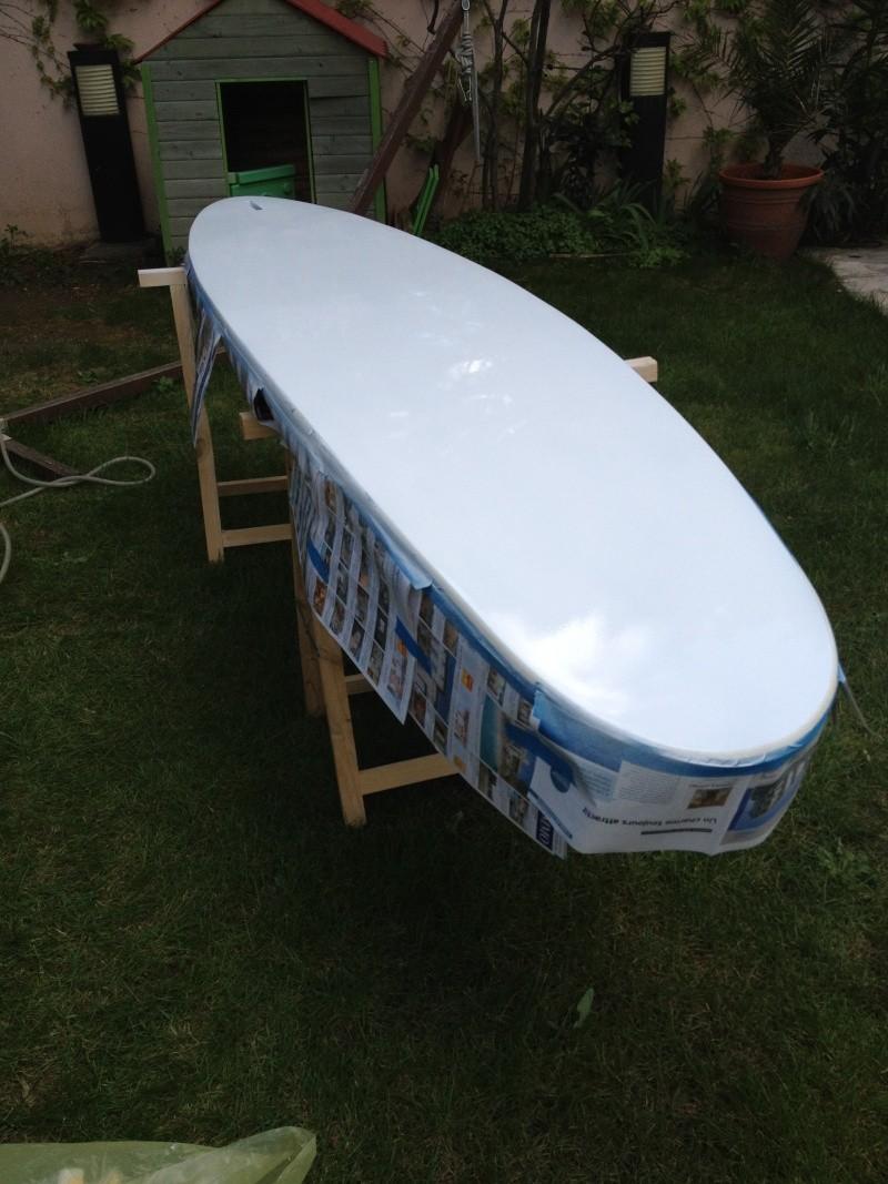 reconditionnement d'une board de slalom sandwich airex carbone (FIN !!) - Page 3 Img_1817