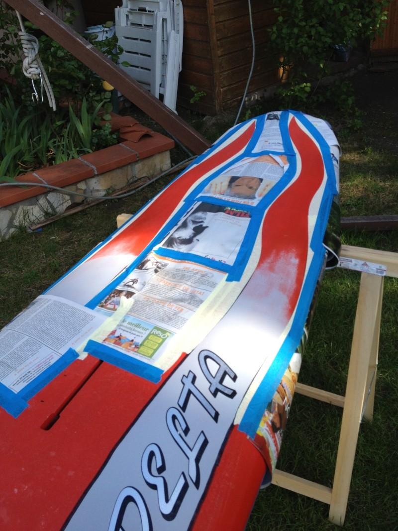 reconditionnement d'une board de slalom sandwich airex carbone (FIN !!) - Page 3 Img_1818