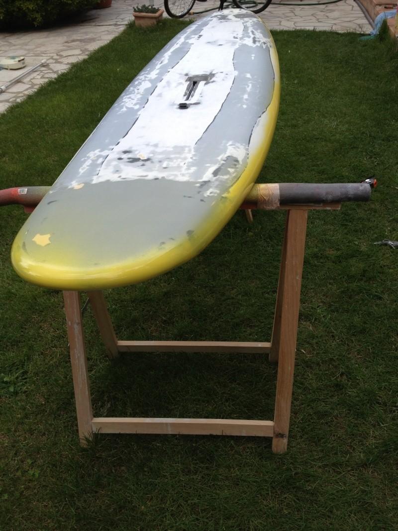 reconditionnement d'une board de slalom sandwich airex carbone (FIN !!) - Page 3 Img_1822