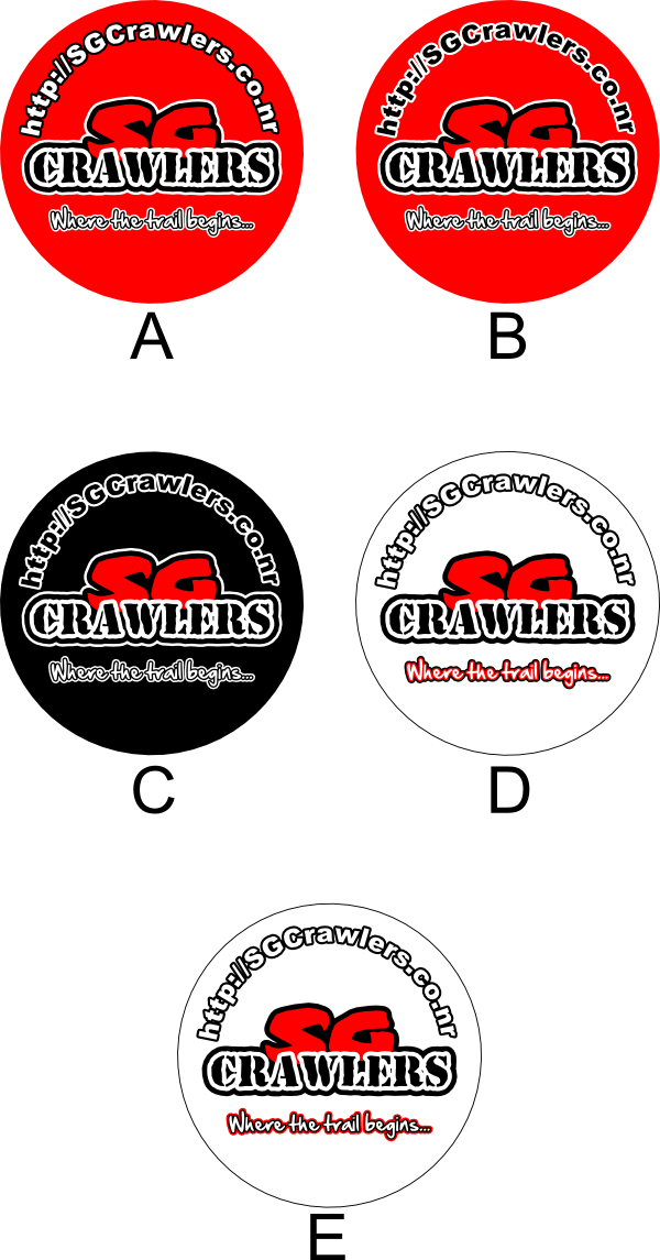 Vote for your favourite SG Crawlers Car Decal Design Sgcraw13