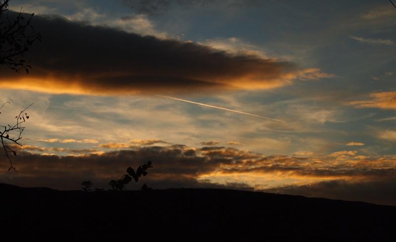 petit coucher de soleil P9082010