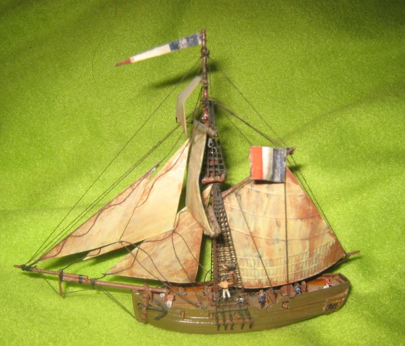 Dutch Gun Boat 1/300th Dgb11