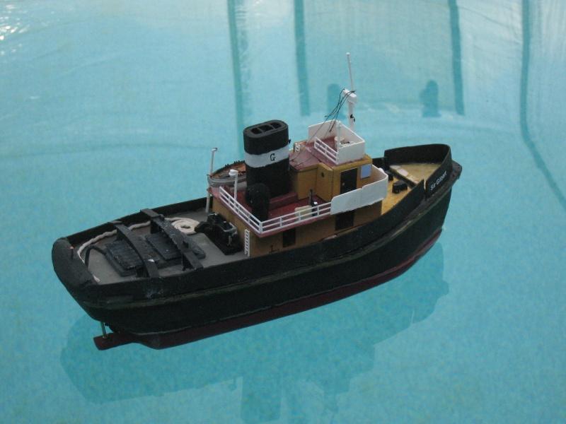 """Small Tug """"Sir Gilbert""""  Side_v10"""