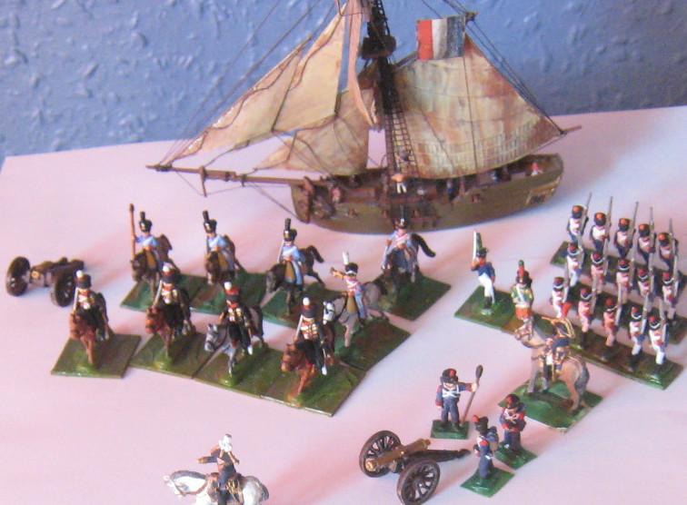 Dutch Gun Boat 1/300th Wargam10