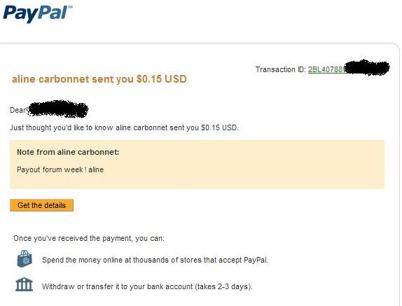My payment proofs 3, 4 and 5 Prova410