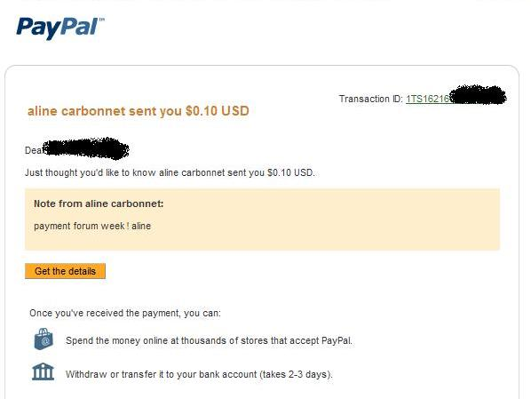 My payment proofs 3, 4 and 5 Prova510