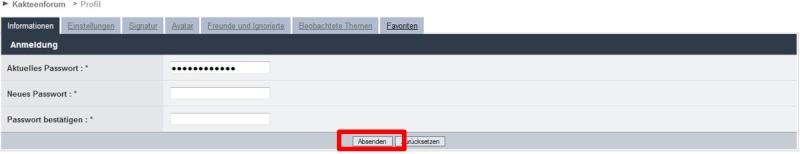 Persönliche Daten im Profil einstellen 2012-112