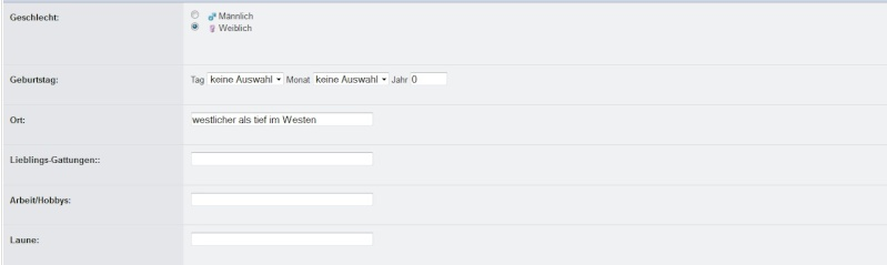 Persönliche Daten im Profil einstellen 2012-114