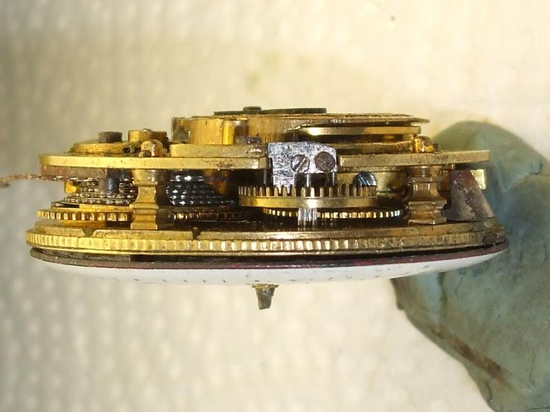 Remise en état d'une montre à verge. Dscf3923
