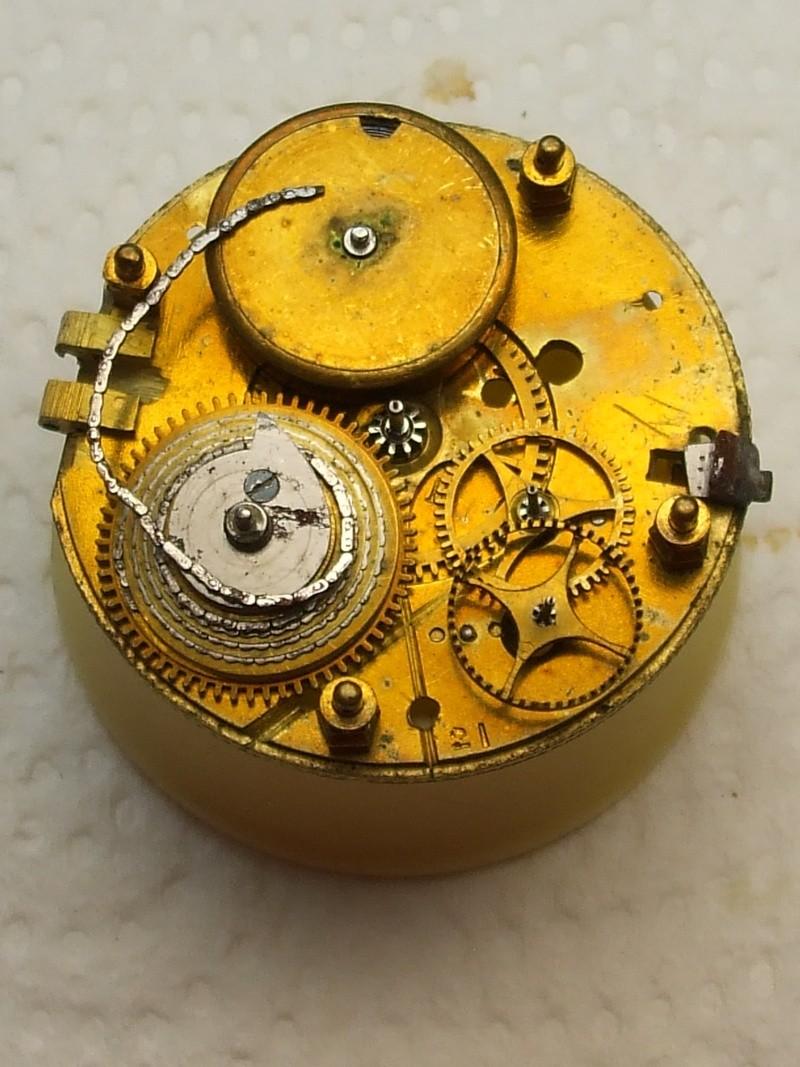 Remise en état d'une montre à verge. Dscf3925